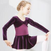 儿童舞蹈服装女童练功服少儿体操幼儿芭蕾舞裙练功服