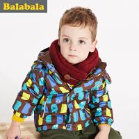 巴拉巴拉童装  男童棉服小童宝宝上衣冬装儿童棉衣棉袄