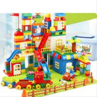 积木拼装玩具益智男孩大颗粒宝宝儿童塑料拼插大号大块智力开发