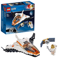 【当当自营】LEGO乐高积木城市组City系列60224 太空卫星任务