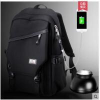 双肩包男大容量商务背包休闲男时尚新款潮流韩版旅行电脑包