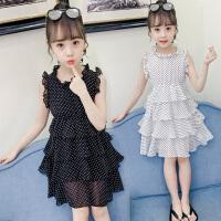 女童连衣裙夏装2019新款儿童超洋气网红童装公主裙小女孩雪纺裙子