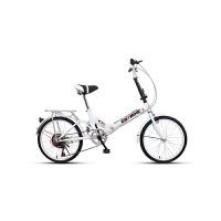 折叠自行车单车超轻便携迷你小型轻便变速减震16/20寸女学生新品