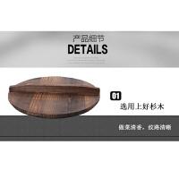 42cm家用双耳大铁锅老式传统农村柴火土灶地锅圆底燃气40铸铁炒锅 有盖