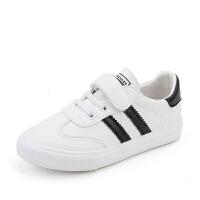 儿童板鞋春款男童鞋子春秋潮小白鞋春季百搭女童白鞋