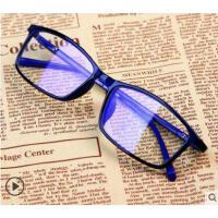防辐射眼镜男防蓝光护眼平光镜女无度数电脑护目镜TR90近视眼镜框