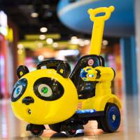 儿童电动车四轮汽车宝宝室内摇摇车带遥控玩具车可坐人婴儿摩托车