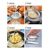体不锈钢手持面粉筛子细糖粉雪花酥用滤网家用烘焙工具