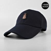 帽子男士户外棒球帽韩版纯色鸭舌帽女时尚潮帽休闲帽遮阳帽老人帽