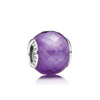 PANDORA潘多拉 紫色多切面925银串饰791499ACZ