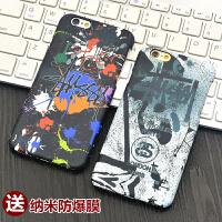 潮牌陈冠希同款iphone6plus手机壳4.7苹果6S保护套5.5磨砂硬壳男