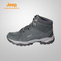 【限时抢购】Jeep/吉普 男士户外运动耐磨防水透气徒步登山鞋J662039089