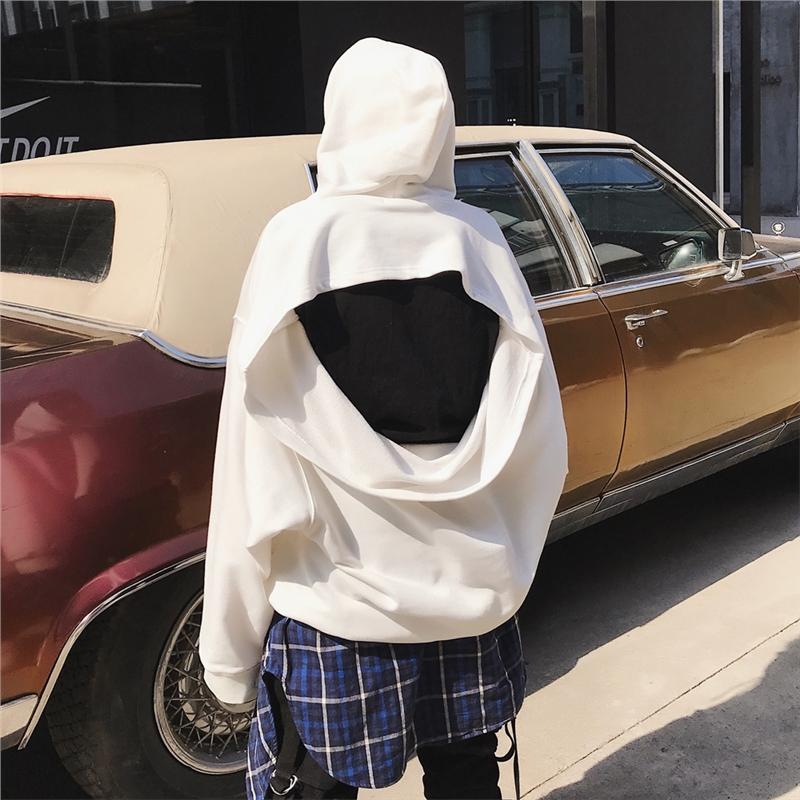 欧美街头连帽卫衣宽松蝙蝠衫夜店潮流大码青少年学生嘻哈外套 一般在付款后3-90天左右发货,具体发货时间请以与客服协商的时间为准