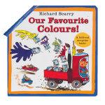 Richard Scarry Our Favourite Colours 斯凯瑞童书:我最爱的颜色(卡板书) ISBN