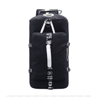 新款大容量帆布双肩包女休闲旅行背包韩版潮健身包多功能旅游包男