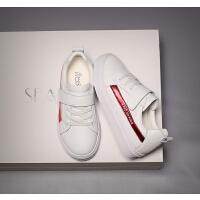 女童小白鞋春季学生板鞋平底运动鞋中大童鞋
