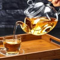 高硼硅耐热玻璃茶具 花茶壶 耐高温玻璃壶 过滤加厚功夫茶壶泡茶壶