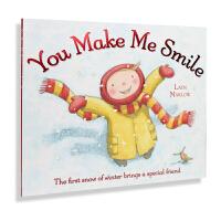 牛津原版英文绘本/You Make Me Smile 你让我笑了