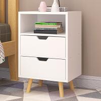 简易床头柜宜家家居床边小柜子收纳柜卧室储物柜斗柜