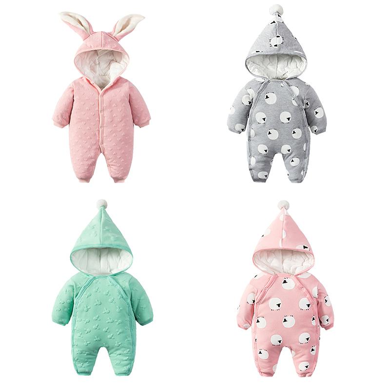 婴儿棉衣套装加厚新生儿衣服冬季外出抱衣0岁3个月冬装连体衣宝宝 发货周期:一般在付款后2-90天左右发货,具体发货时间请以与客服协商的时间为准