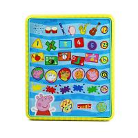 Peppa Pig 小猪佩奇平板电脑模型早教机 亲子互动男女宝宝适用 英语早教
