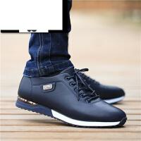 男士休闲鞋2017春季新款男鞋子韩版运动板鞋青少年潮鞋厚底增高鞋子男