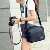 佳能相机包单反便携摄影包200D600d700D760D800D70D77D80D6D13 标准款小号+礼物六