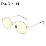帕森2019新款防蓝光光学眼镜女金属多边形时尚护目镜框