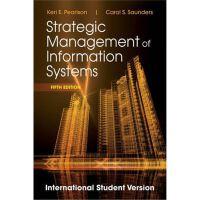 Strategic Management of Information Systems [平装] [,Strategi