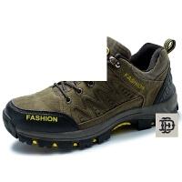 男登山鞋徒步鞋秋冬季保暖男鞋 低帮男士休闲鞋2016新款防滑 运动户外鞋
