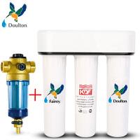 3M 前置过滤器 3CP-F020-5+Fairey道尔顿FIP301厨房台下直饮净水器