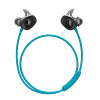 Bose SoundSport 无线耳机-水蓝色 耳塞式蓝牙耳麦 运动耳机 智能耳机