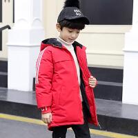 冬装外套儿童羽绒袄中大童冬季加绒童装男童棉衣