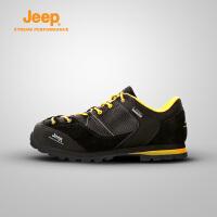 【特惠价】Jeep/吉普 男女情侣款户外运动登山鞋徒步鞋牛皮吉普鞋J662039101