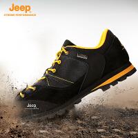 Jeep/吉普男女情侣款户外登山徒步鞋