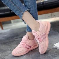 平底韩版百搭潮鞋学生跑步鞋女鞋运动鞋女网面透气休闲鞋