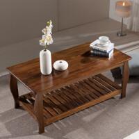 实木功夫茶几茶桌松木茶台原木中式小户型客厅简约现代茶艺桌 组装