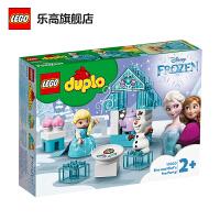 【当当自营】LEGO乐高积木 得宝DUPLO系列 10920 艾莎和雪宝的下午茶 玩具礼物