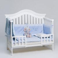 戴维贝拉实木环保水性漆多功能婴儿床 儿童床DB2822