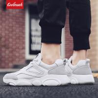 【领券立减100】Coolmuch男跑鞋2019新款男子轻便缓震透气运动休闲跑步鞋YG3304