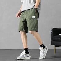 男士短裤男装0夏季潮牌潮流宽松时尚五分外穿 运动裤子