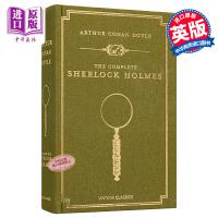 【中商原版】福尔摩斯探案全集 英文版 神探夏洛克 原版精装The Complete Sherlock Holmes 布