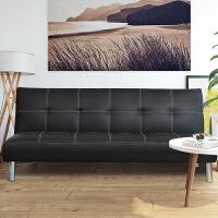 懒人沙发床小户型可折叠实木双人三人出租房两用简易多功能沙发床 1.5米-1.8米