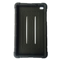 华为揽阅M2平板保护套8寸电脑防摔软壳M2-801W/803L硅胶全包皮套 黑色(M2 8寸) (黑色略沾灰)