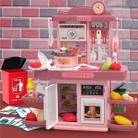 儿童过家家厨房玩具套装宝宝小女孩煮饭男孩做饭仿真厨具垃圾分类