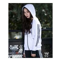 瑜伽服运动套装女冬季韩版连帽卫衣宽松健身房跑步长袖外套上衣