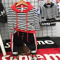 **儿童男童长袖卫衣t恤休闲裤韩版套装分开卖2018春装新款