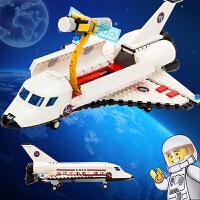 航天飞机火箭模型10岁儿童积木男孩子拼装玩具