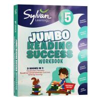 现货正版Fifth Grade Super Reading Success 美国小学五年级练习册 英文原版词汇+阅读理解