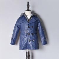 男童皮衣PU皮外套Q920